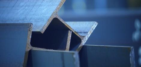 Stahl Metalle Stahlträger