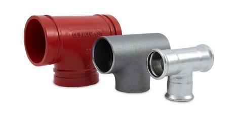 Verbindungssysteme für Rohrinstallationen Kuppeln Schweissen PresseN