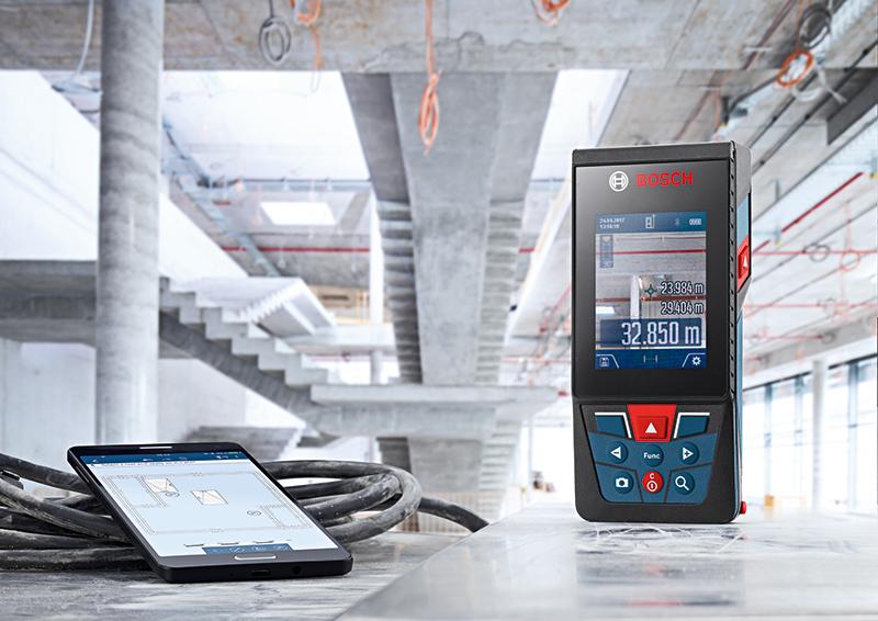Entfernungsmesser Von Bosch : Bosch laser entfernungsmesser mit integrierter kamera debrunner